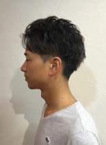 ワイルドパーマ(髪型メンズ)