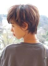 大注目 大人ボーイッシュショート(髪型ショートヘア)