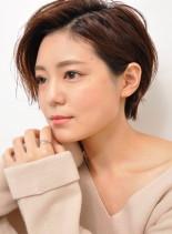 お手入れ簡単☆大人ショートパーマ(髪型ショートヘア)
