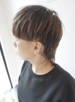 マッシュレイヤーなデザインウルフ(髪型ショートヘア)