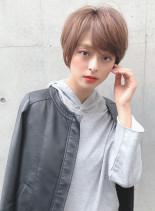 大人かわいいショート(髪型ショートヘア)