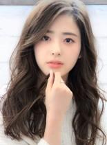巻き髪風☆柔らかいデジタルパーマ(髪型ロング)