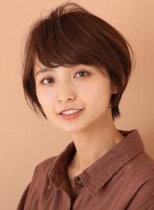 ひし形シルエット☆小顔ショートヘア(ビューティーナビ)