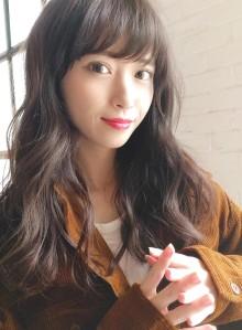 小顔似合わせカット☆ナチュラルブラウン(ビューティーナビ)