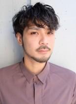全ての悩み解決◇マッシュウェーブスタイル(髪型メンズ)