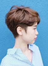 くびれショート(髪型ベリーショート)