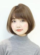 30代40代ひし形ボブ(髪型ボブ)