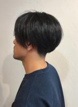 メンズマッシュボブ(髪型メンズ)