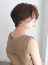 大人ラフショート(髪型ショートヘア)