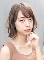 ゆるふわボブスタイル(髪型ボブ)