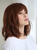 30代40代お手入れ簡単髪型(髪型ミディアム)