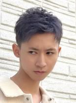 刈り上げビジネスカジュアルスタイル(髪型メンズ)