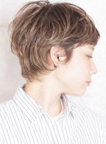 後ろ姿が褒められる☆外国人風大人ショート(髪型ショートヘア)