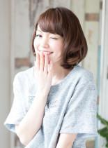 美シルエットショートボブ(髪型ボブ)