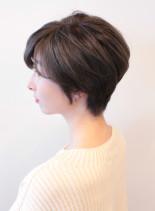 大人気 大人のひし形シルエットショート(髪型ショートヘア)