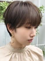 30代、40代の【褒められショート】(髪型ショートヘア)