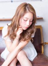 フェミニンカールロング(髪型ロング)