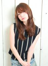 ゆるふわベージュロング(髪型ロング)
