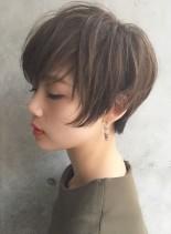 褒められショートヘア(髪型ショートヘア)