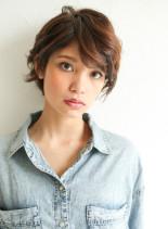 大人かわいいセンシュアルショート(髪型ショートヘア)