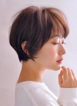 大人のシンプルおしゃれなショートヘアー(髪型ショートヘア)