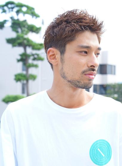 井岡 一 翔 髪型