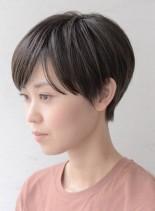 コンパクトハンサムショート(髪型ベリーショート)