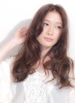 大人かわいい♪フェアリーロングスタイル(髪型ロング)