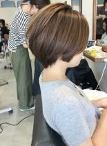 30、40代人気◎お手入れ簡単ショート(髪型ショートヘア)