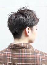 刈り上げツーブロックのビジネスショート(髪型メンズ)