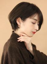 ☆30代40代☆大人可愛いショートボブ(髪型ショートヘア)