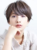 30代、40代の【究極似合わせショート】(髪型ショートヘア)