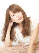 リラックスカール(髪型ロング)