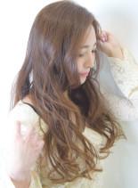 グラマラスウエーブ(髪型ロング)