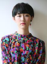 30代・40代くせ毛風ショートヘア(髪型ショートヘア)