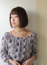 30代・40代手入れ簡単ボブ☆(髪型ボブ)