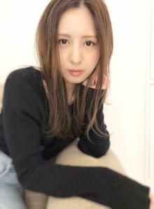 新木優子さん風ナチュラルヘア(ビューティーナビ)