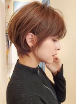 スッキリ☆大人の小顔ショート(髪型ショートヘア)