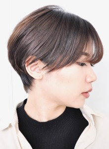 お手入れ簡単☆ひし形ショートヘア(ビューティーナビ)