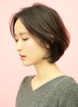 手入れ簡単☆大人女性のラフなボブ(髪型ボブ)