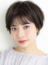 【フリンジショート】(髪型ショートヘア)
