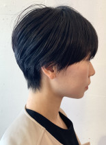 30代40代 手入れ簡単ショートカット(髪型ショートヘア)