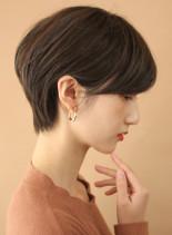まとまりのある大人美人ショートボブ◎(髪型ショートヘア)