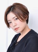 お手入れ簡単☆大人綺麗なショートボブ(髪型ショートヘア)