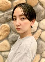 大人ハンサムショート☆骨格美人(髪型ベリーショート)