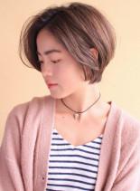 美ライン 大人のショートボブ(髪型ショートヘア)