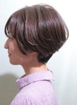 【40代50代】辺見えみり風大人ショート(髪型ショートヘア)