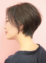 30代40代50代簡単大人ショートヘア(髪型ショートヘア)