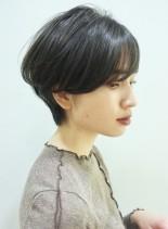 お手入れ簡単*くびれショート(髪型ショートヘア)