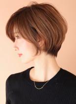 ボリュームup☆ふんわりひし形シルエット(髪型ショートヘア)